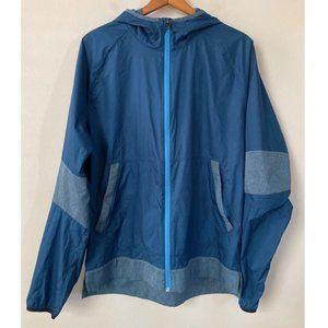 Lululemon Windbreaker Running Jacket Lightweight Full Zip Reflective Hood